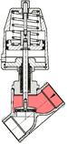 Válvula de mando neumático